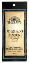 Village Naturals Therapy Mineral Bath Soak for Stree and Tension Relief - Juniper and Menthol
