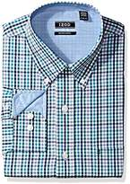 Izod Mens Big and Tall Advantage Performance Stretch Long Sleeve Shirt Long_Sleeve Button-Down Shirt