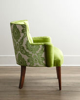 Haute House Bright Tiffany Damask Chair