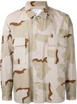 Monkey Time camouflage print shirt - men - Cotton - M