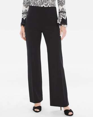 Chico's Chicos Ponte Wide-Leg Trousers