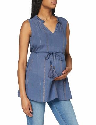 Mama Licious Mamalicious Women's Mlgoldie S/l Woven Top T-Shirt