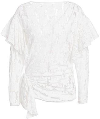 Etoile Isabel Marant Vinny Sheer Lace Top