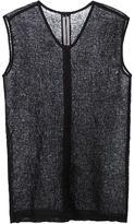 Rick Owens 'Moody' tank top - men - Linen/Flax/Polyester - M