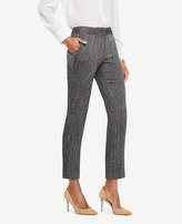 Ann Taylor The Tall Ankle Pant In Herringbone - Devin Fit