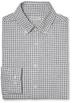 Merona Merona; Men's Plaid Button Down Long Sleeve Shirt Light Gray L - Merona;