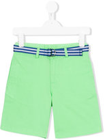 Ralph Lauren belted shorts - kids - Cotton/Spandex/Elastane - 2 yrs
