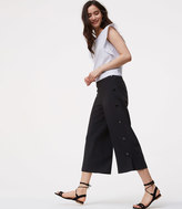 LOFT Side Button Culottes