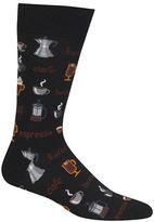 Hot Sox Coffee Graphic Socks