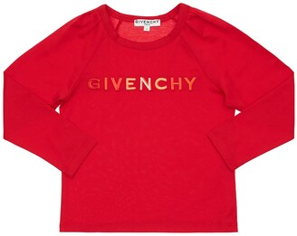 Givenchy Embroidered Logo Cotton Jersey T-shirt
