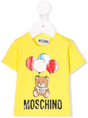 MOSCHINO BAMBINO graphic print T-shirt
