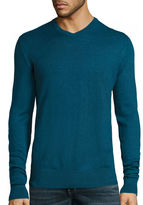 ST. JOHN'S BAY St. John's Bay Long-Sleeve Fine-Gauge Sweater