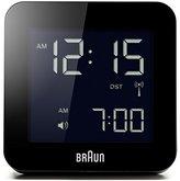 Braun Digital Alarm Clock, Black