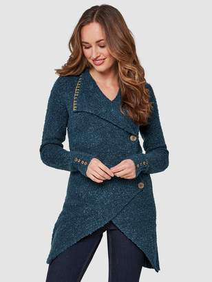 Joe Browns Quirky Boucle Knit - Blue