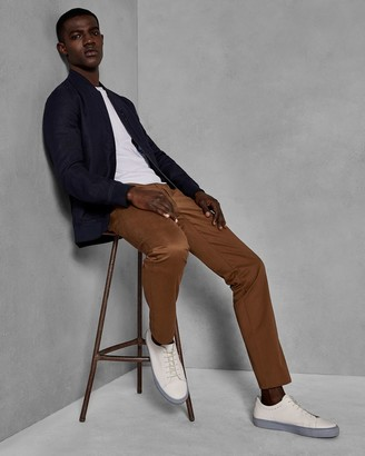 Ted Baker Classic Fit Cotton Chinos
