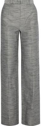 Rick Owens Melange Woven Straight-leg Pants