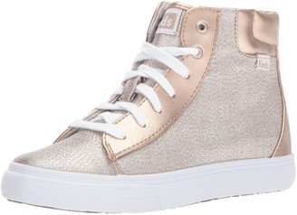 Keds Girls' Double Up High Top Sneaker