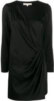 Vanessa Bruno wrap v-neck dress