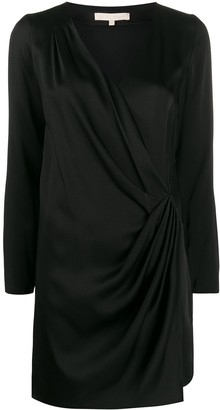 Vanessa Bruno Wrap V-Neck Dress