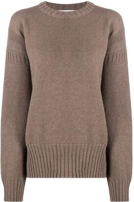 Pringle Guernsey stitch cashmere jumper