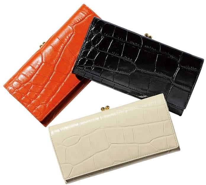 bea819335bc2 クロコ 長財布 - ShopStyle(ショップスタイル)