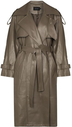 Low Classic Belted Trench Coat