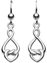 Heritage Sterling Silver Celtic Love Knot Drop Earring