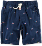 Carter's Cotton Pull-On Shorts, Toddler Boys (2T-4T)