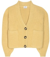 Acne Studios Hadlee Wool And Mohair-blend Cardigan