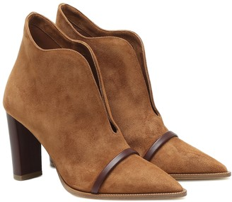 Malone Souliers Clara 85 suede ankle boots