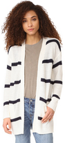 Cupcakes And Cashmere Ridley Stripe Cardigan