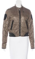G Star Quilted Long Sleeve Jacket