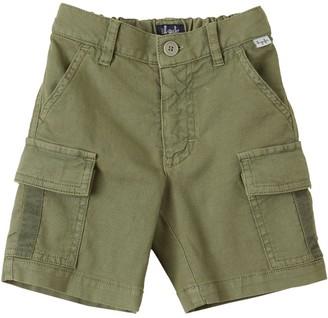 Il Gufo Cotton Canvas Cargo Shorts