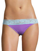 Betsey Johnson Forever Perfect Lace-Trimmed Hipster Panties