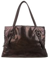 Roger Vivier Buckle Leather Tote