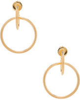 Maria Black Norma Medi Hoop Earrings