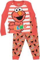 Sesame Street Girls' Elmo Pajamas Size 12M