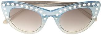 No.21 N21 x Linda Farrow cat-eye sunglasses