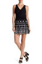 Parker Sammy Embroidered Skirt