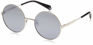 Polaroid Sunglasses Women's Pld4052s Polarized Oval Sunglasses