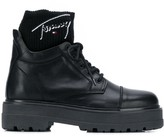 Tommy Jeans sock insert boots