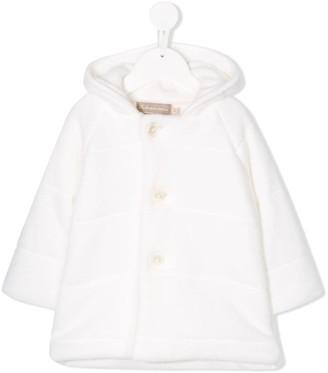 La Stupenderia Hooded Button-Up Coat