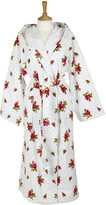 Pip Studio Roses and Dots Bathrobe - White