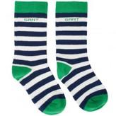 Gant Green Stripe Socks