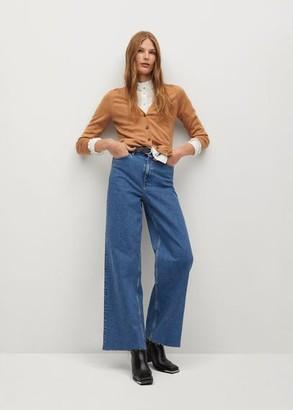 MANGO Modal-blend knit cardigan