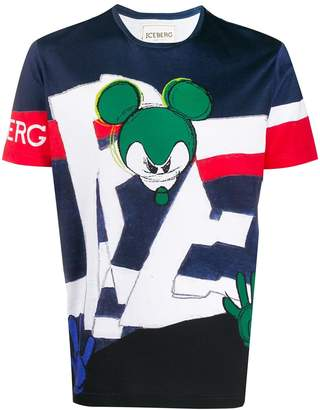 Iceberg Mickey T-shirt