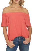 1 STATE Women's 1.state Off The Shoulder Blouse