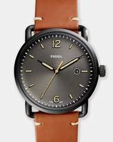 Fossil Commuter Brown Analogue Watch