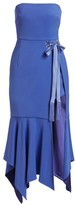 Jonathan Simkhai Star Embellished Crepe Bandeau Dress