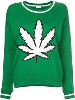 P.A.R.O.S.H. contrast knit jumper